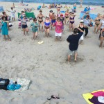 zajęcia na plaży